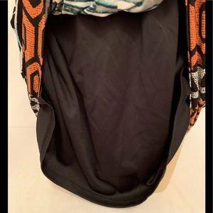 Lux II Dresses - 🌈 Lux Black Teal Animal Print Dress Plus Size 1x